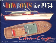 <h5>Chris Craft Showboats for 1954</h5>