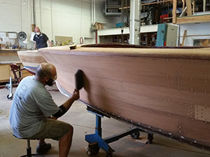 Wooden Boat Building Design