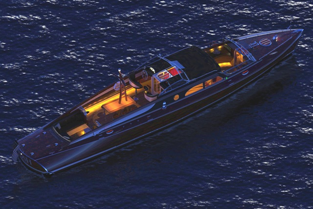 Famed Mahogany Commuter Posh Inspires Megayacht Tender Series 2