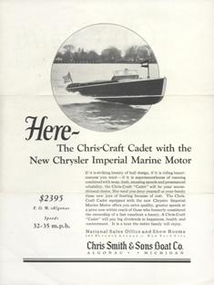 The History of Chris Craft Boats | Classic Boat Sales and Service